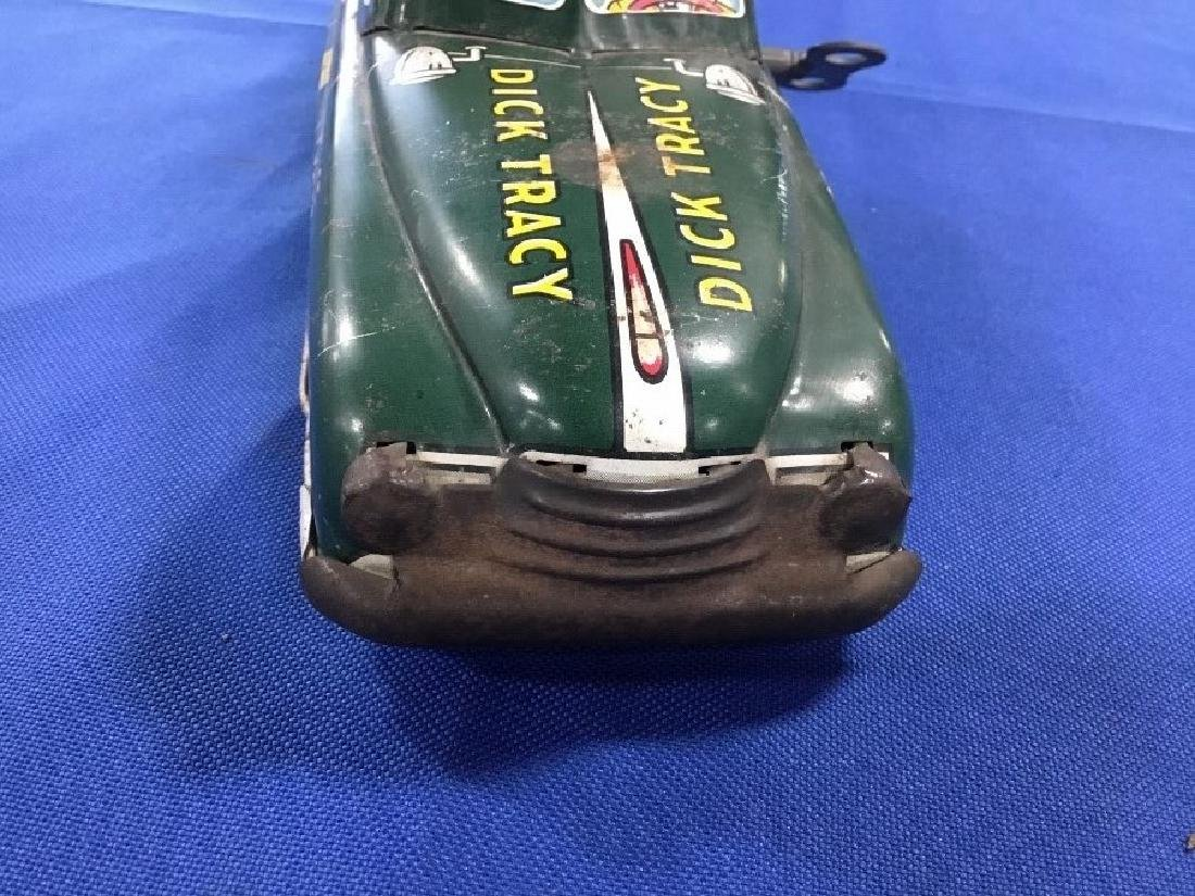 1950s Dick Tracey Tin Toy Car - 4
