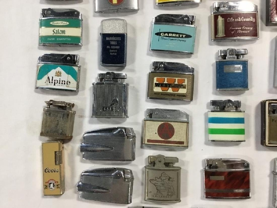 Lot of 50 Vintage Advertising Lighters - 3