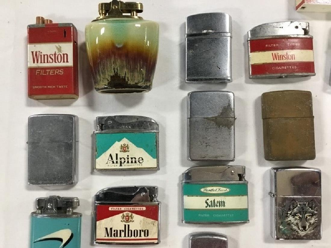 Lot of 57 Vintage Advertising Lighters - 2