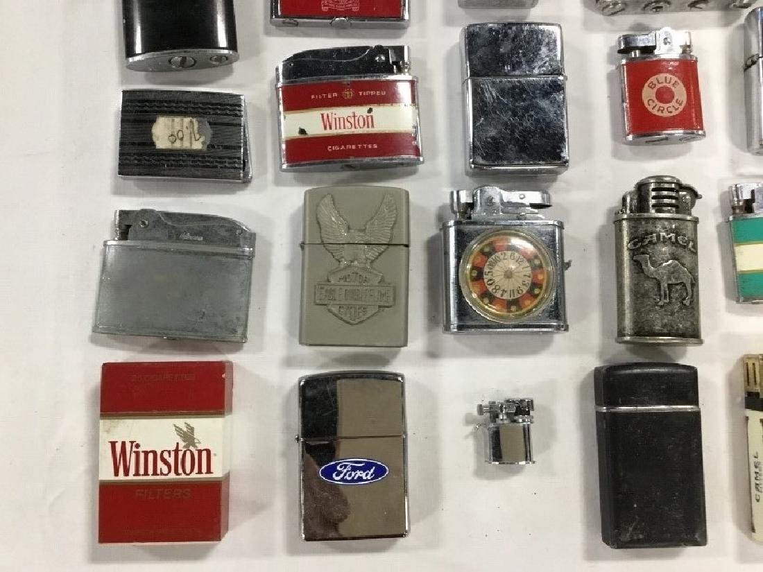 Lot of 57 Vintage Advertising Lighters - 3