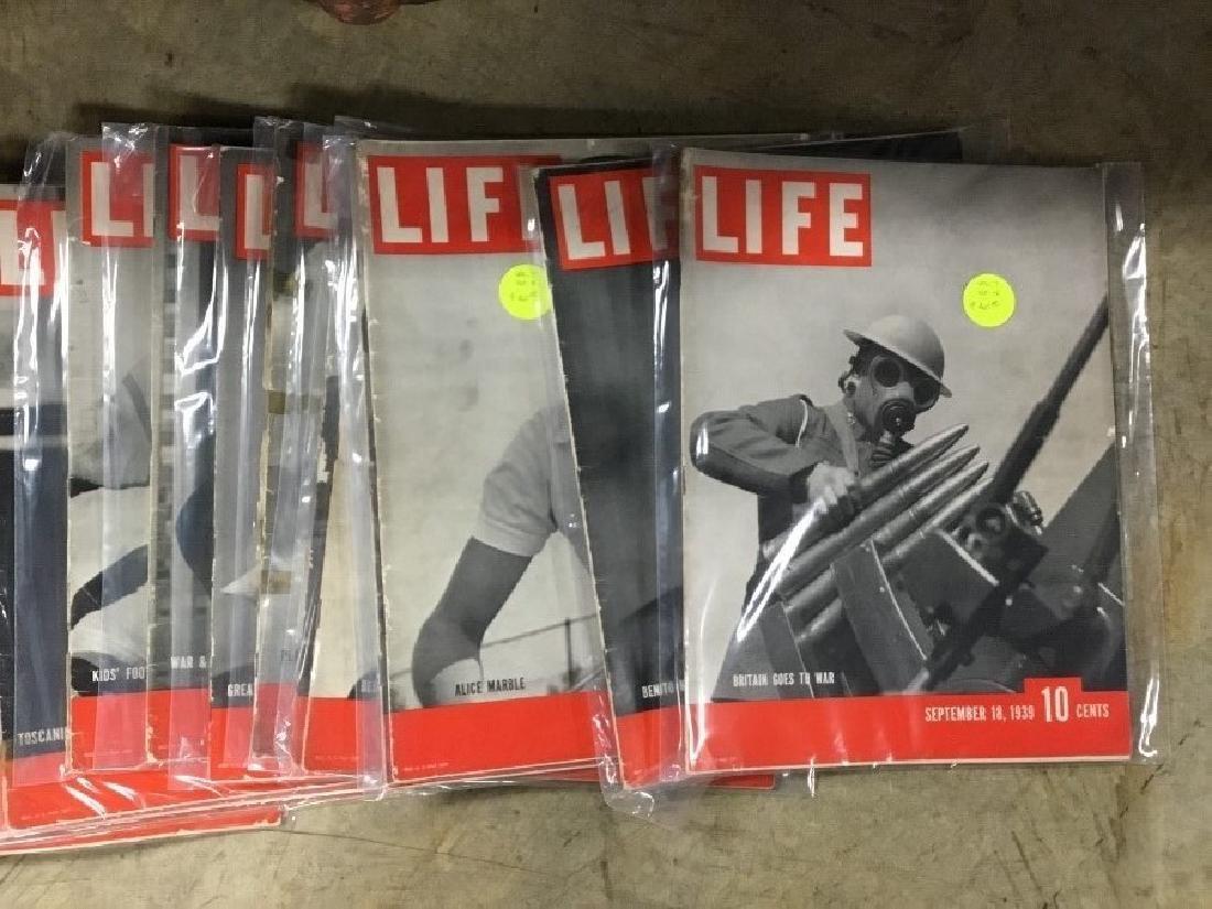 Lot of 124, 1937 thru 1944 Life Magazines - 2