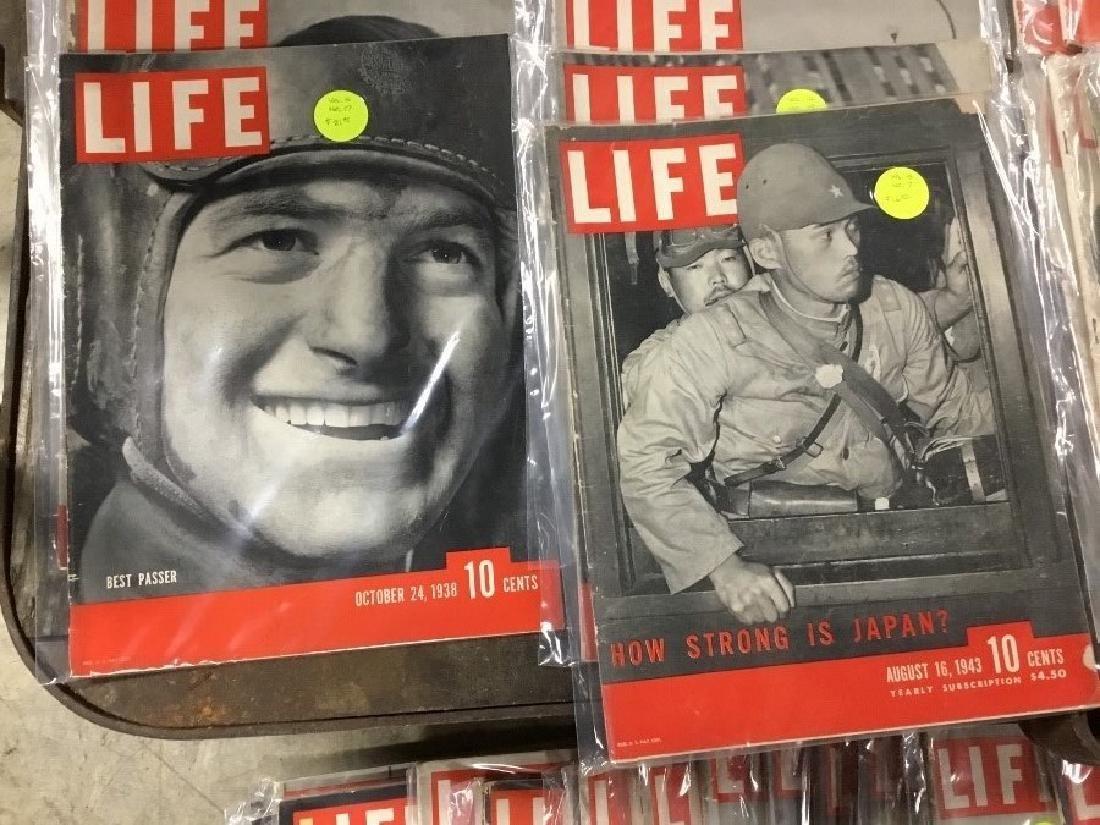Lot of 124, 1937 thru 1944 Life Magazines - 3