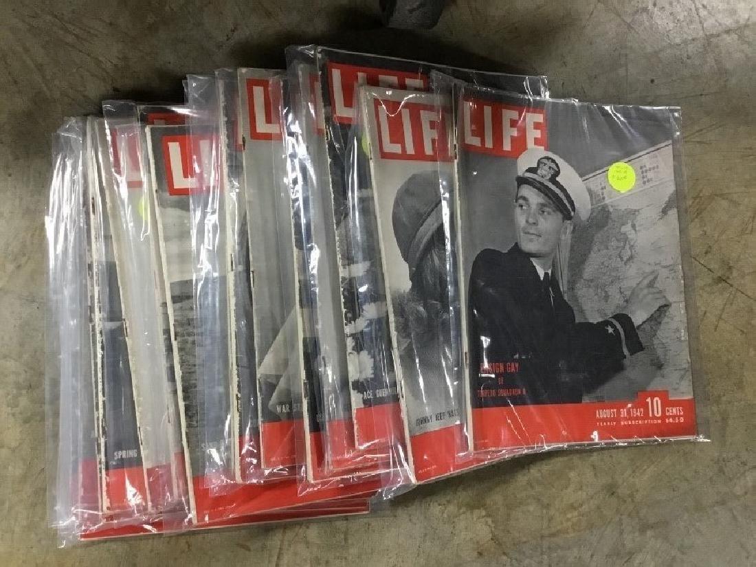 Lot of 124, 1937 thru 1944 Life Magazines - 6