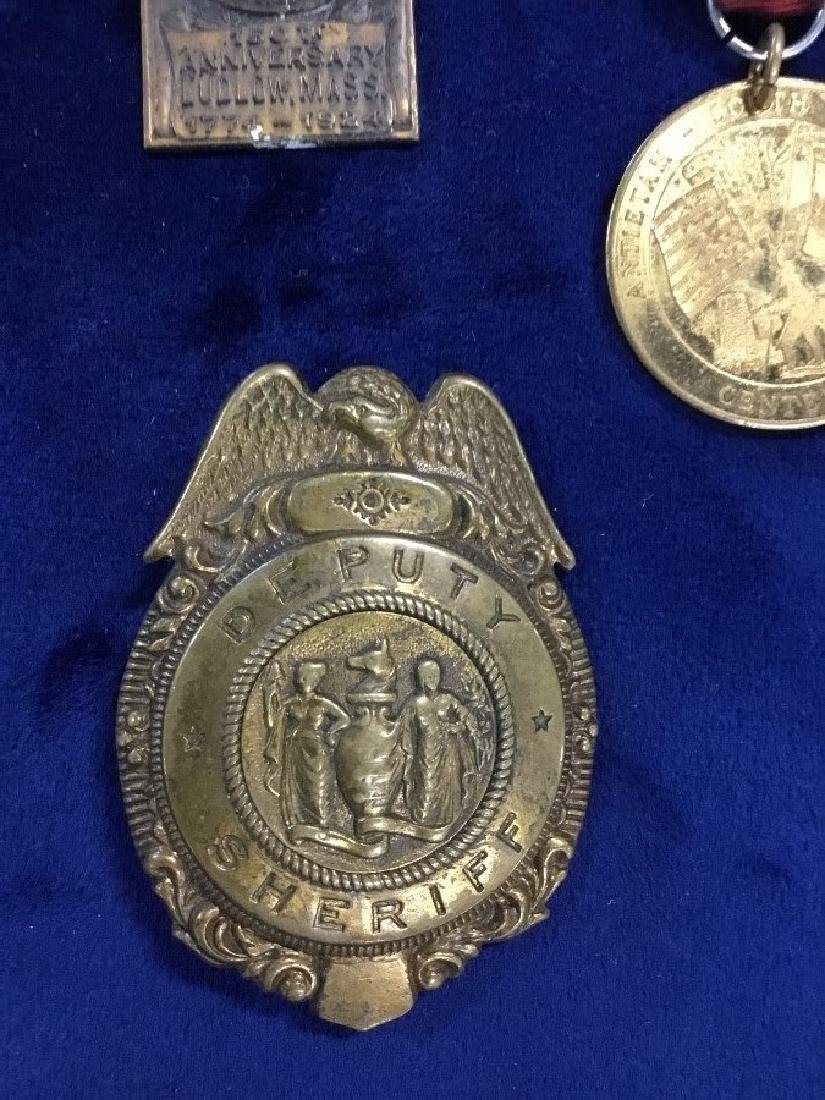 Lot of Vintage Awards, Medals, and Badges - 2