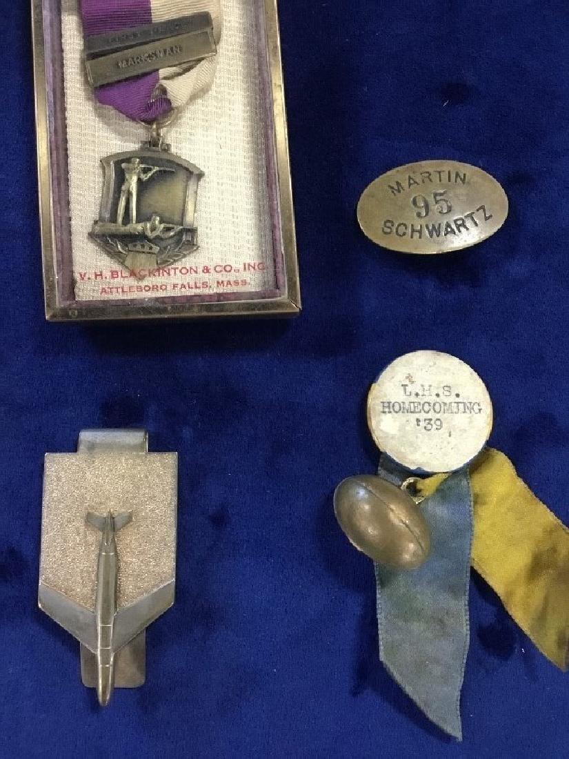 Lot of Vintage Awards, Medals, and Badges - 3
