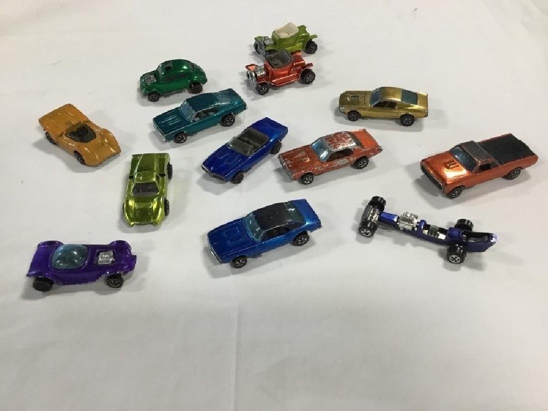 Lot of 12 Vintage Redline Hotwheel Cars