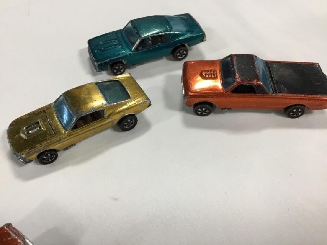 Lot of 12 Vintage Redline Hotwheel Cars - 3