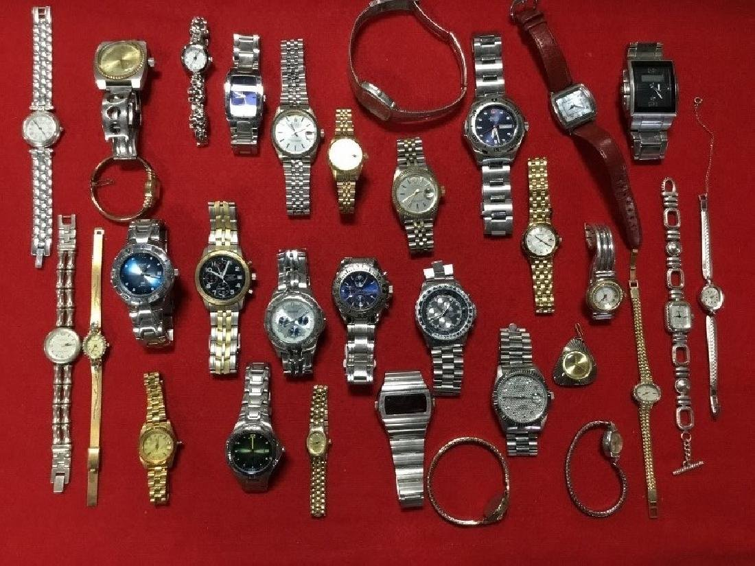 Lot of 30 Mens and Ladies Watches