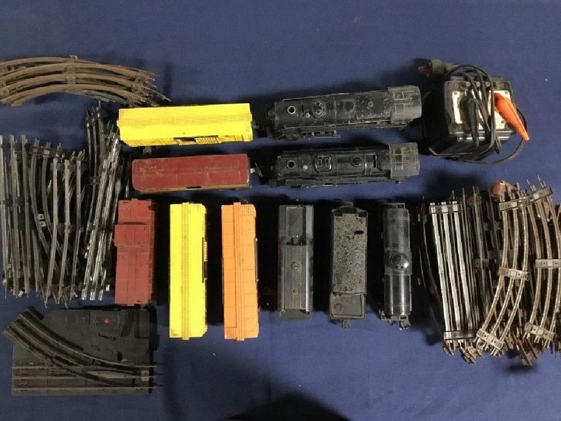 Large Lot of Lionel Locomotives, Cars, and Tracks