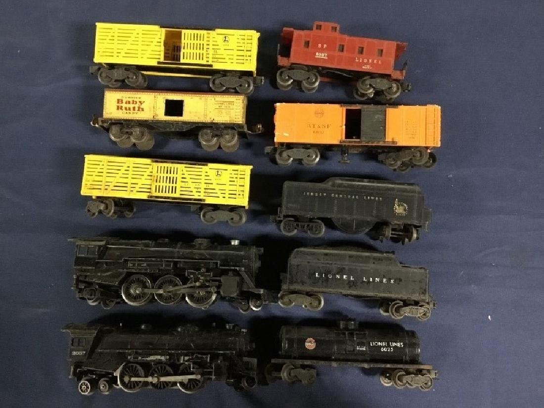 Large Lot of Lionel Locomotives, Cars, and Tracks - 3