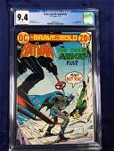Brave and Bold #106 CGC 9.4