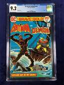 Brave and Bold #109 CGC 9.2