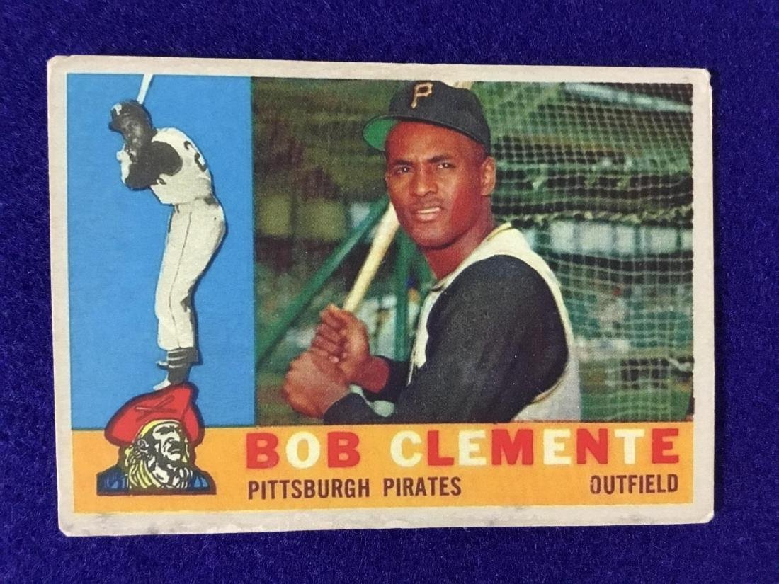 1960 Topps Roberto Clemente #326