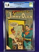 Supermans Pal Jimmy Olsen #1 CGC 1.8