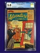 Adventure Comics #169 CGC 5.0
