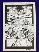 GREEN LANTERN #174, Â Â PAGE #1, Â Â ORIGINAL ART