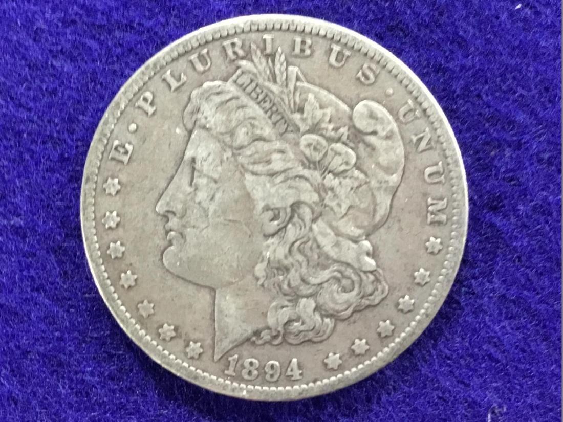 1894 O Morgan Dollar