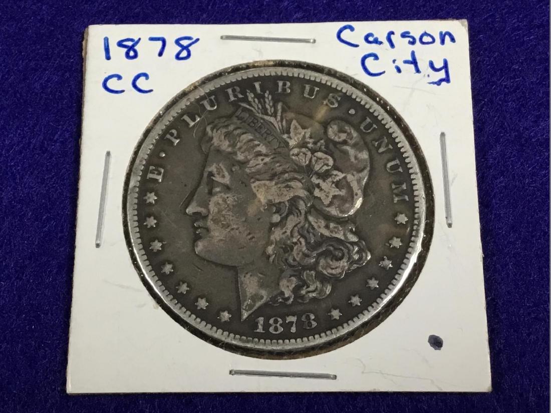 1878 CC Morgan Dollar