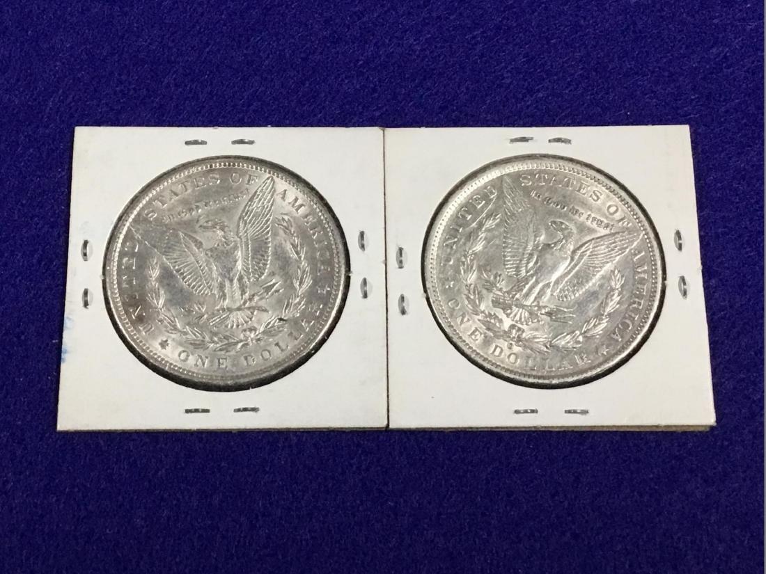 Lot of 2 Morgan Dollars - 2