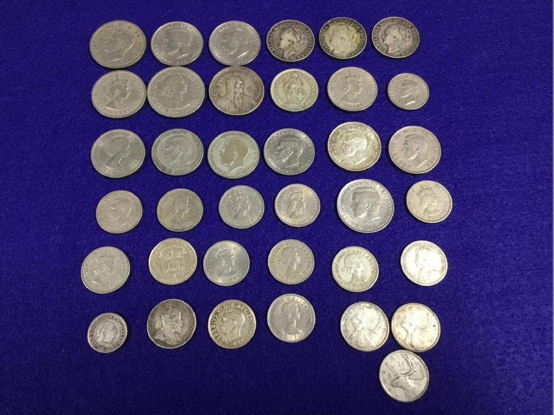 Lot of Various Foreign Coins