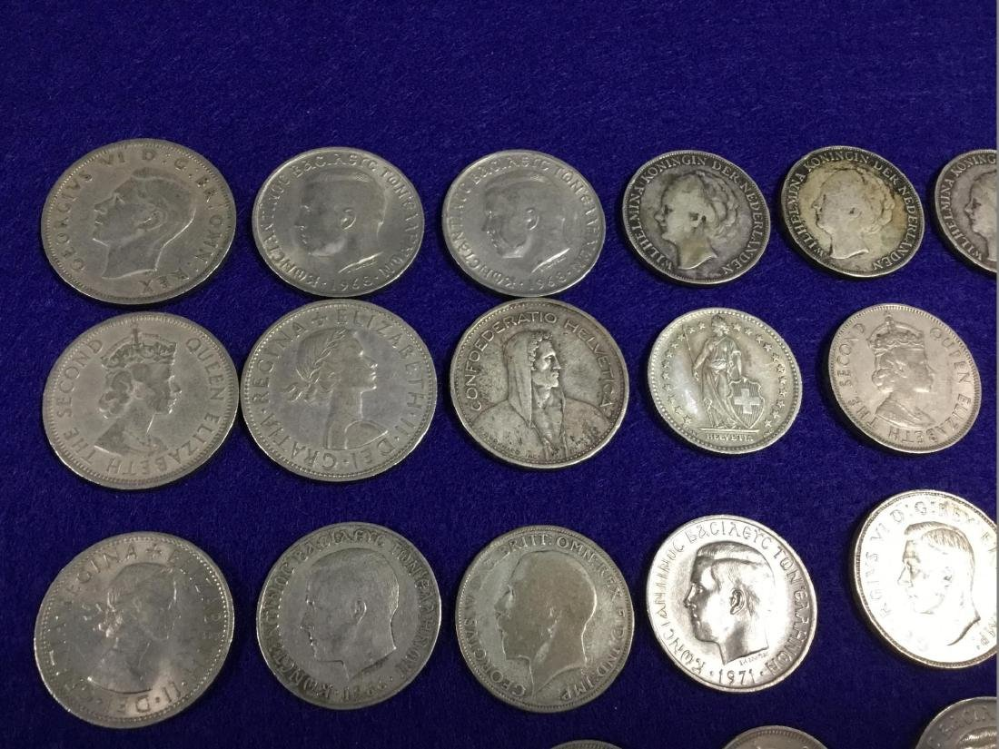 Lot of Various Foreign Coins - 2