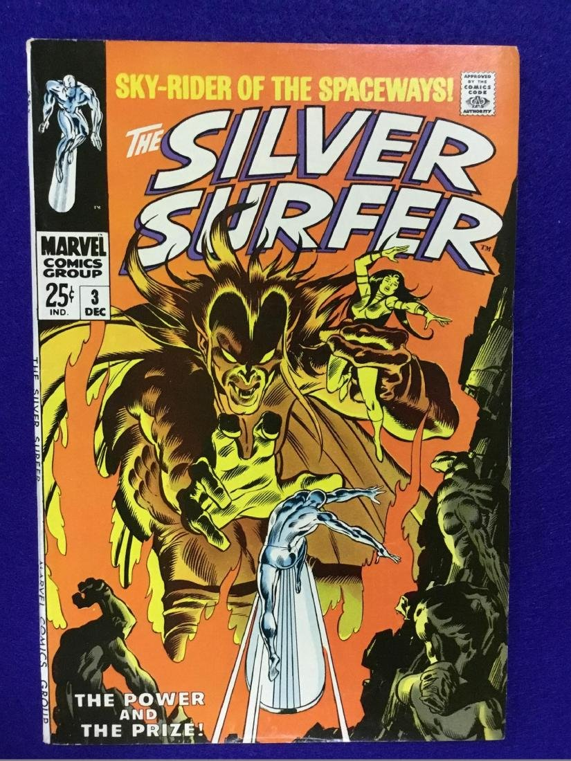 The Silver Surfer Number 3