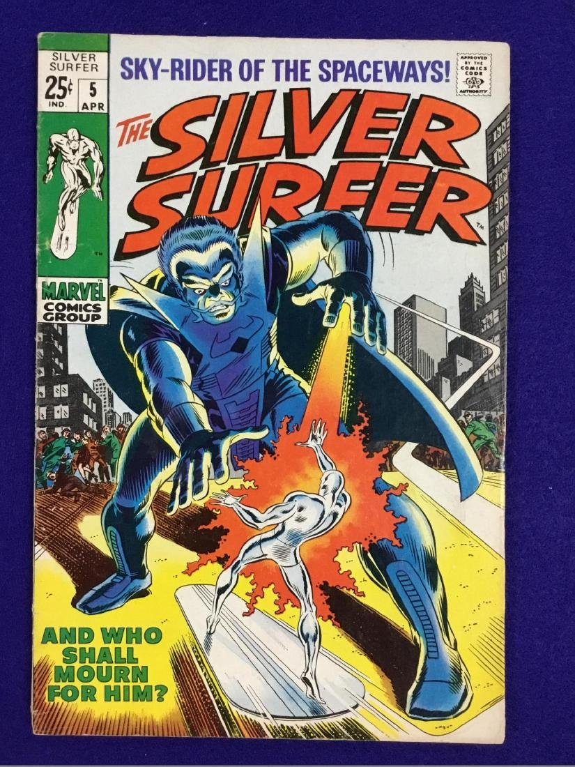 The Silver Surfer Number 5