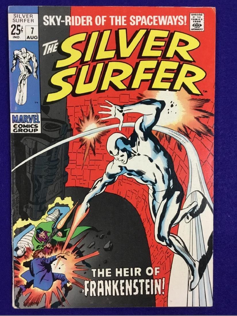 The Silver Surfer Number 7