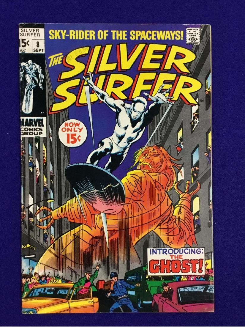The Silver  Surfer Number 8