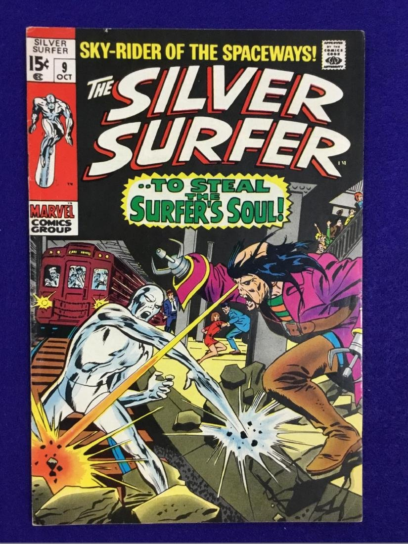 The Silver Surfer Number 9