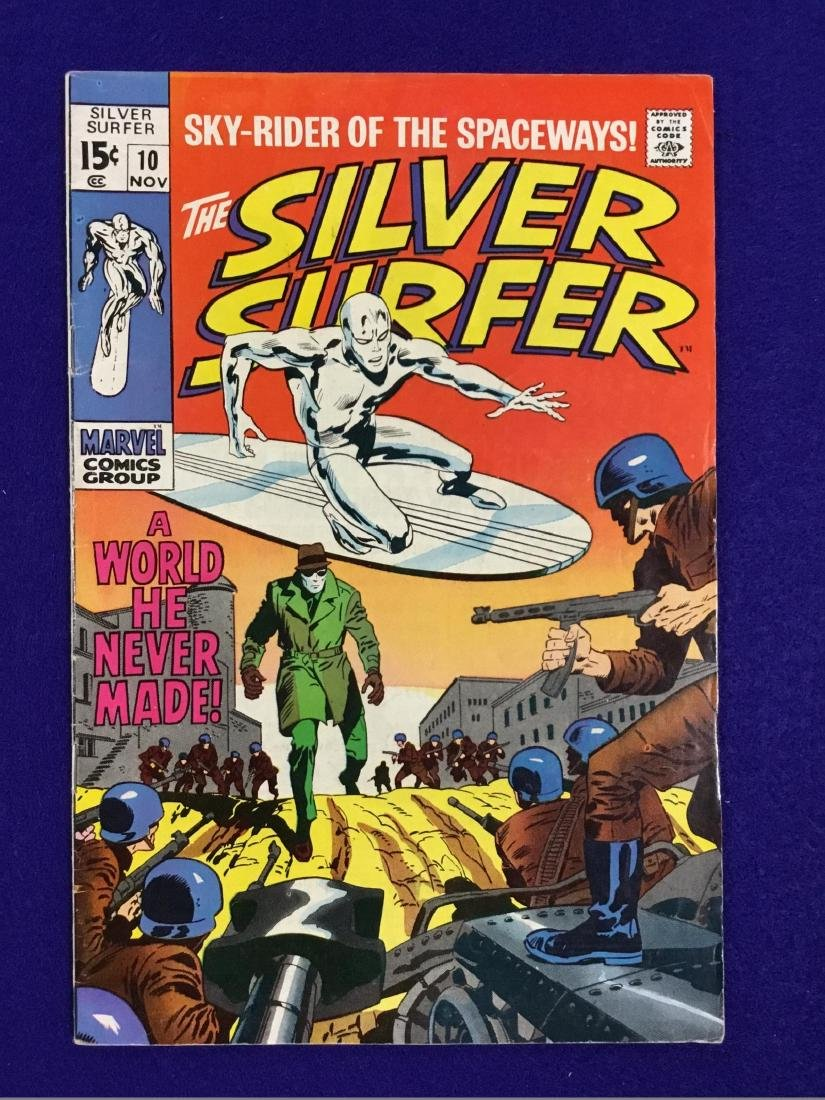 The Silver Surfer Number 10