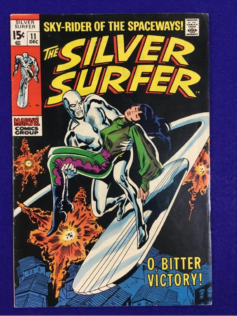 The Silver Surfer Number 11