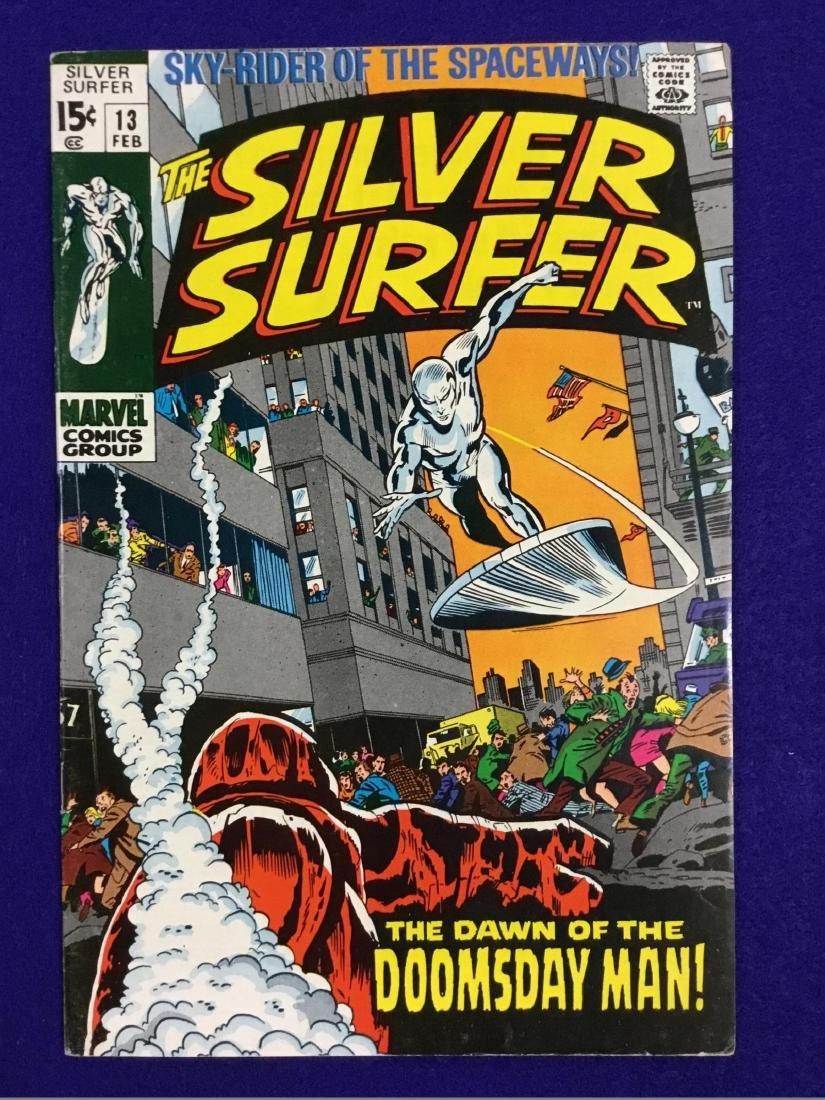 The Silver Surfer Number 13