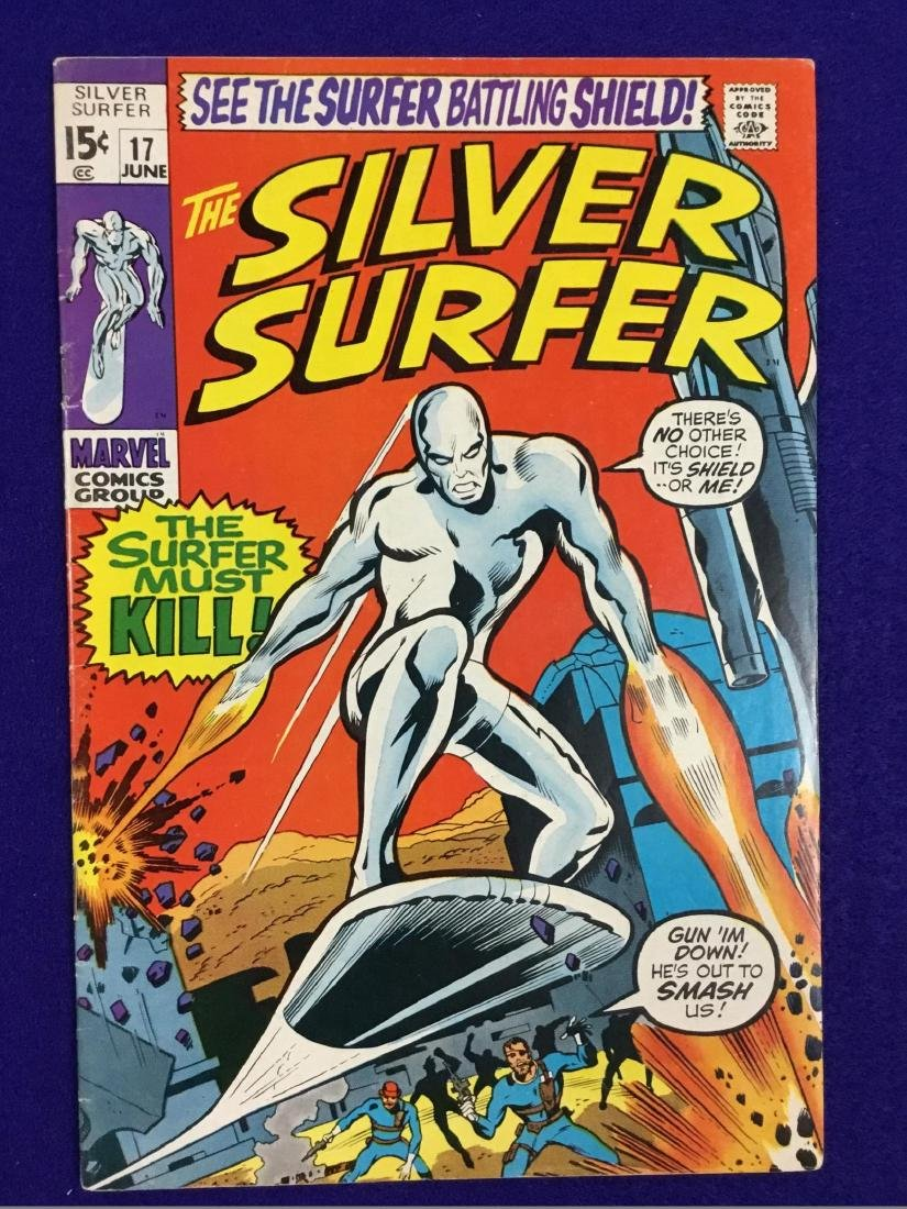 The Silver Surfer Number 17
