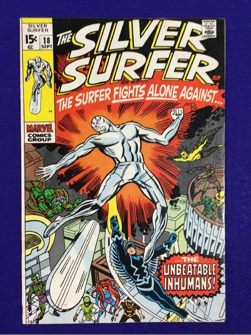 The Silver Surfer Number 18