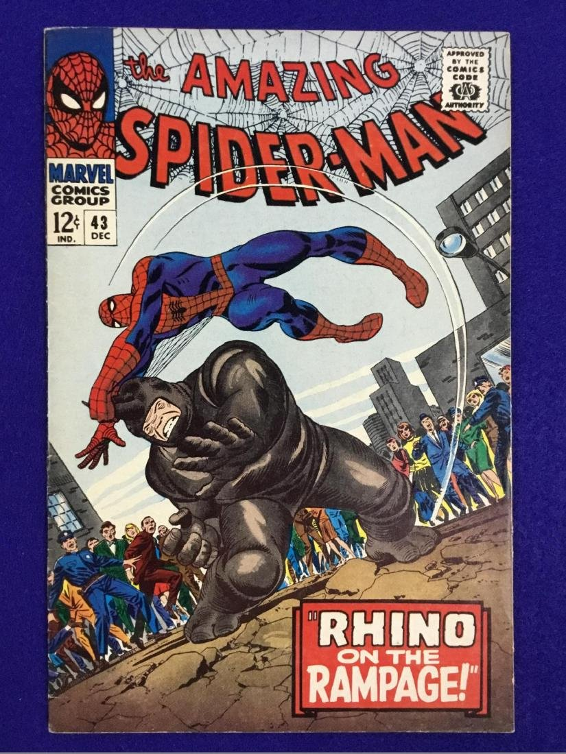 The Amazing Spiderman number 43