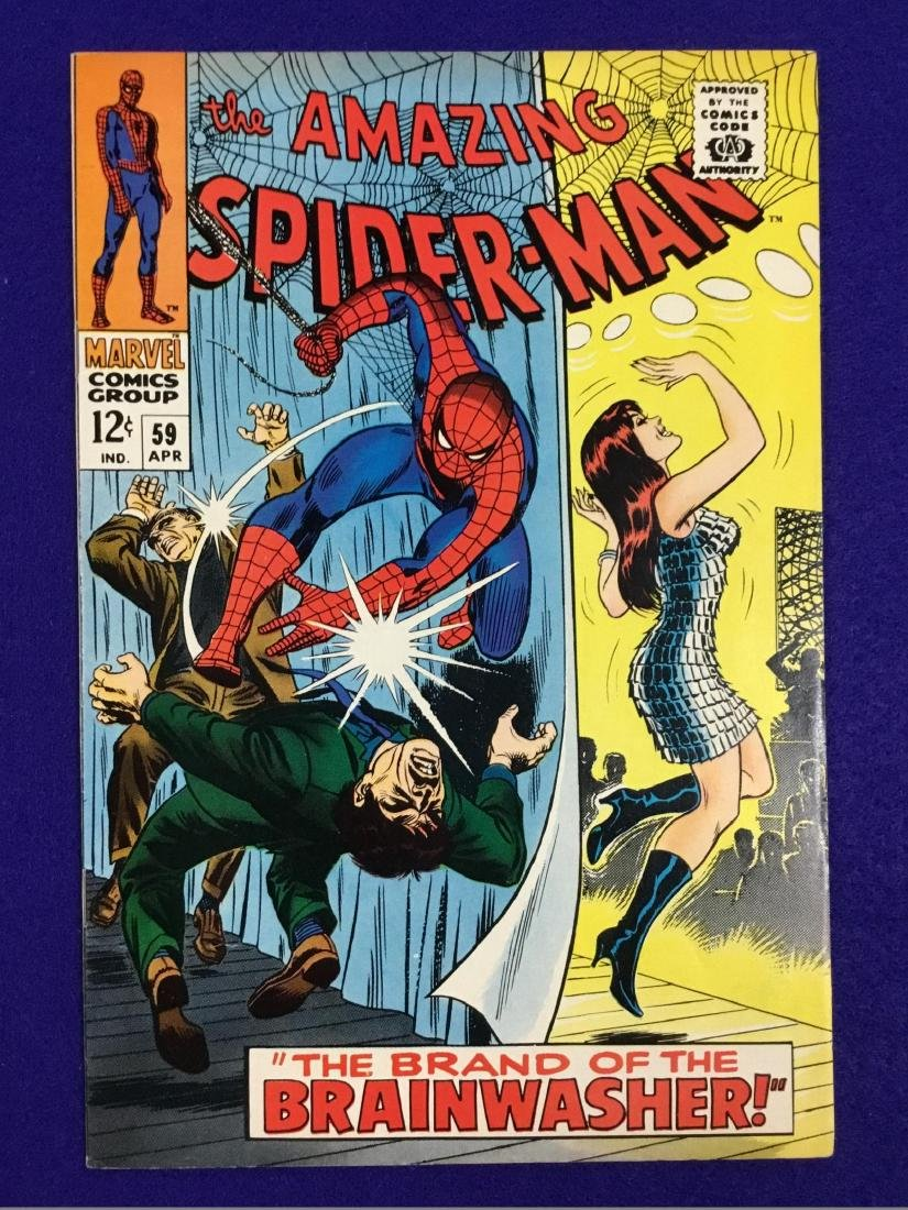 The Amazing Spiderman number 59