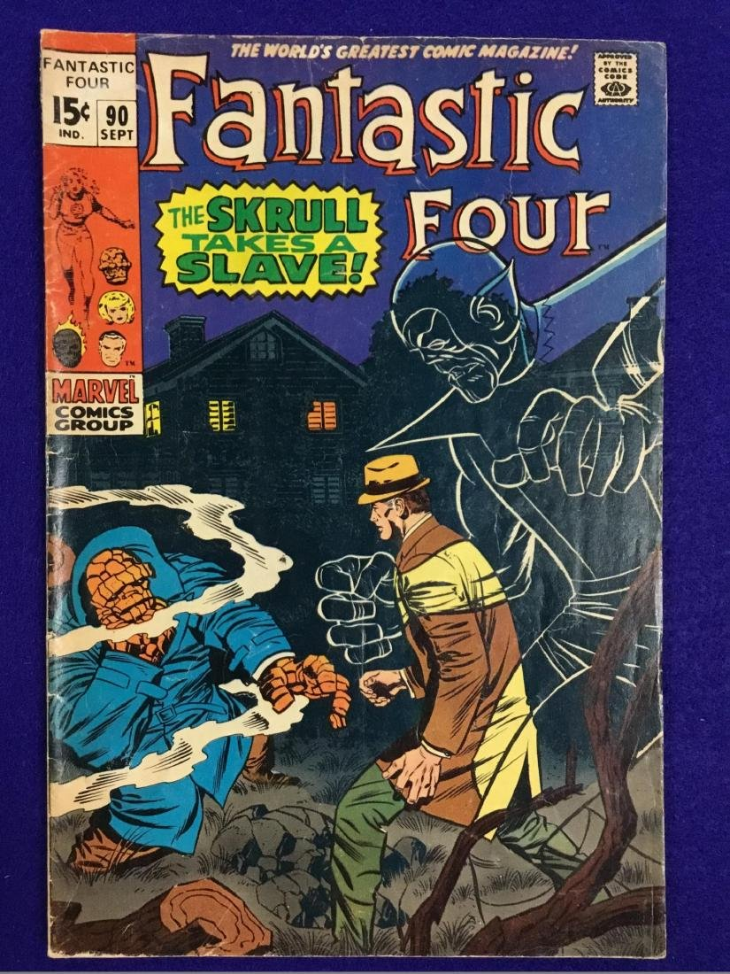 Fantastic Four no. 90