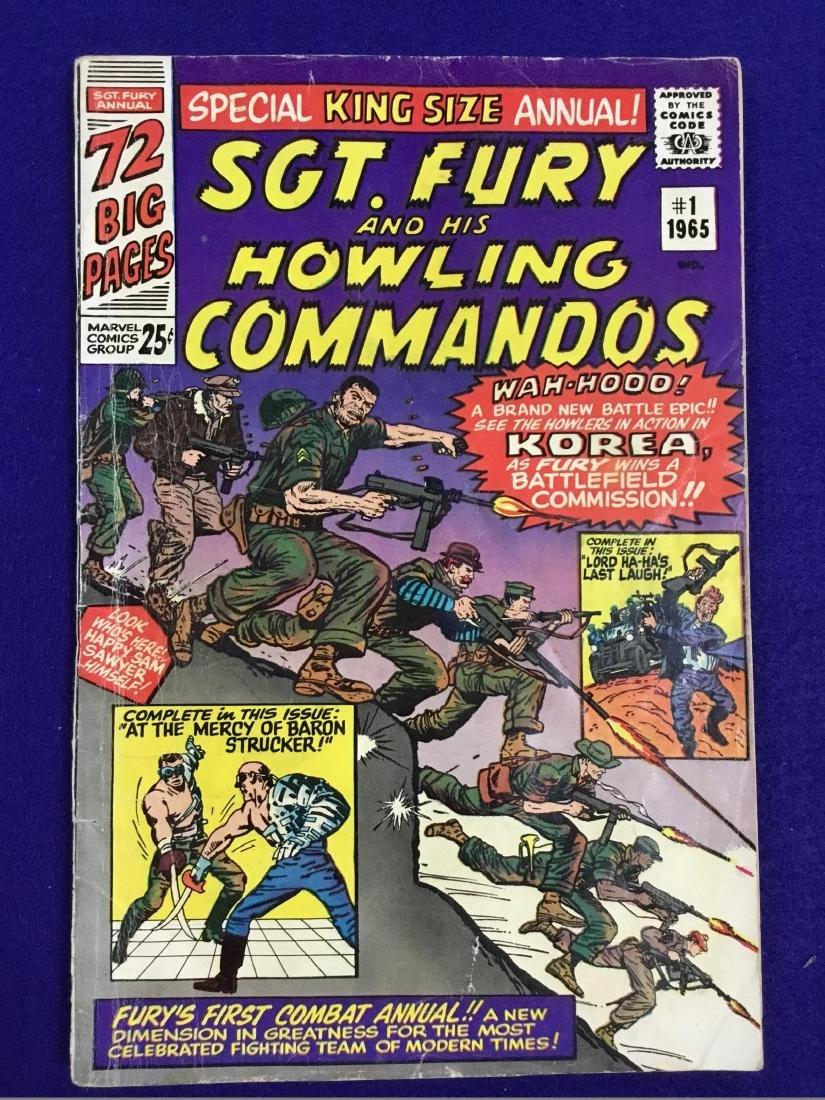 SGT. Fury and his Howling Cammandos no. 1 king size