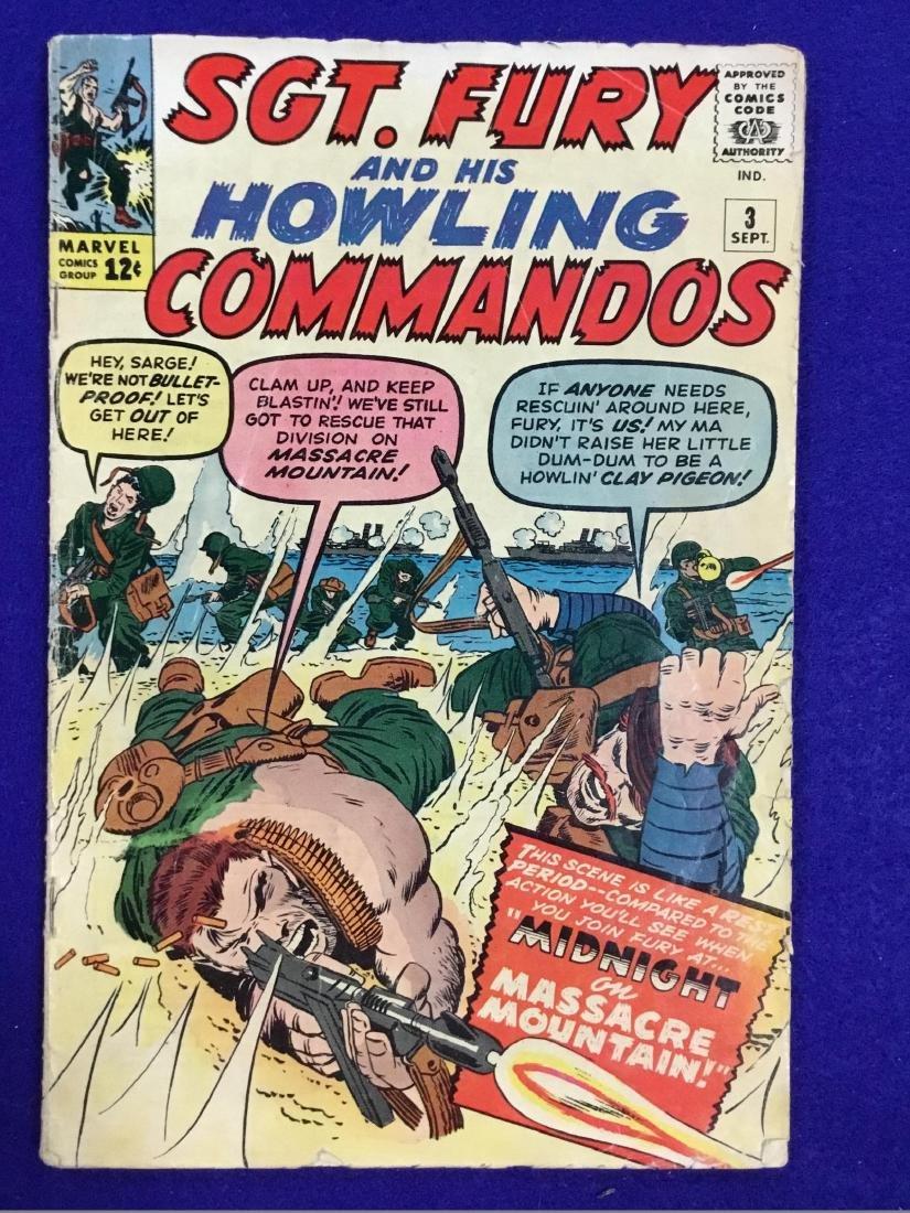 SGT. Fury and His Howling Cammandos no. 3