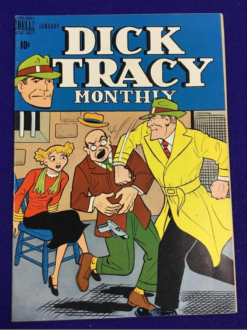 Dick Tracy Monthly January