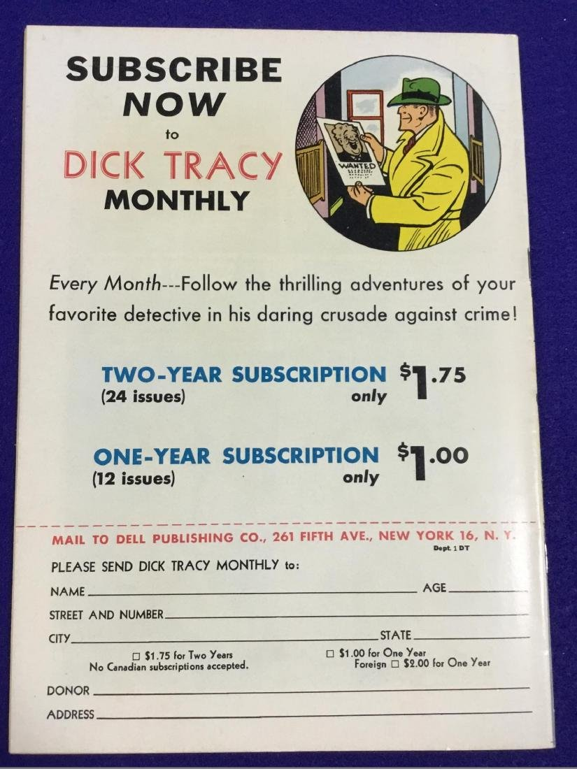Dick Tracy Monthly January - 2