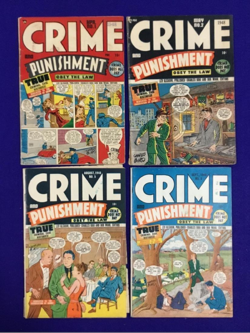 Crime and Punishment No. 1, 2, 5, 6