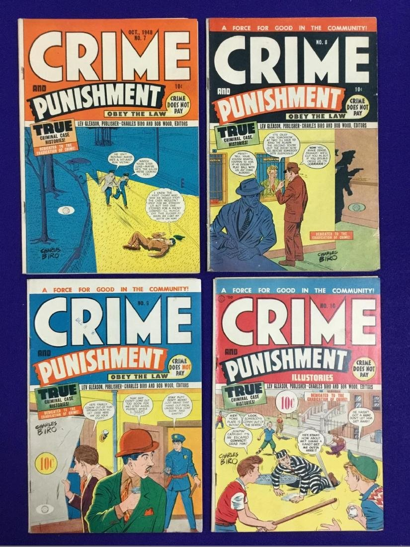 Crime and Punishment No. 7, 8, 9, 10