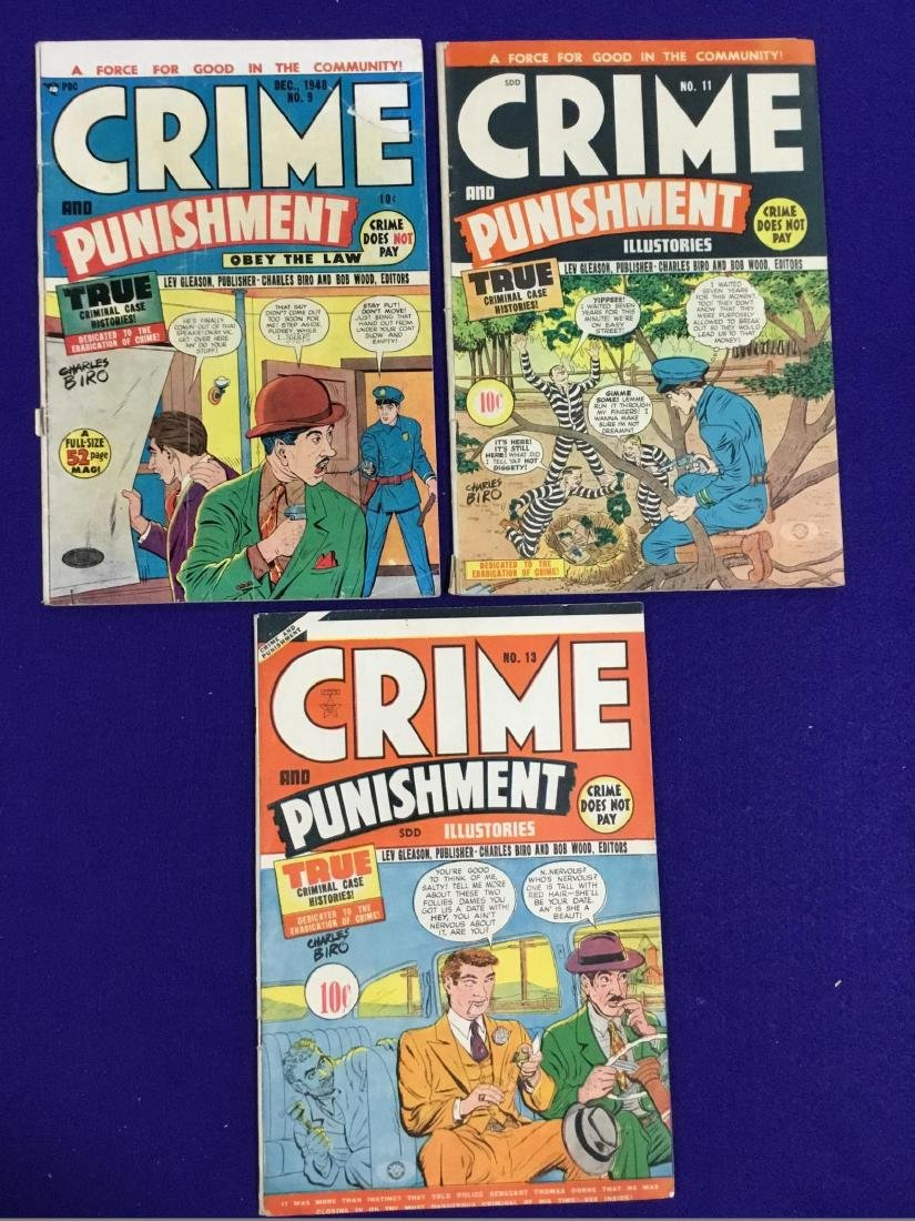 Crime and Punishment No. 9, 11, 13