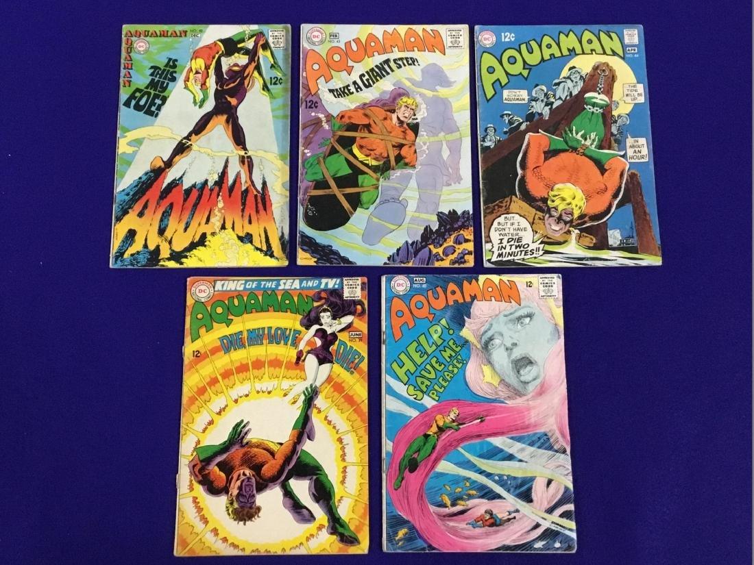 Aquaman NO. 39, 40, 42, 43, 44