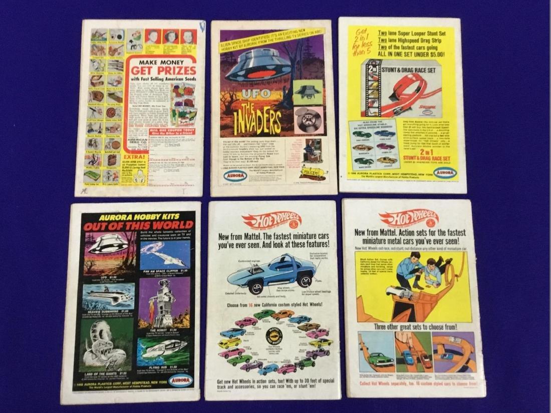 Action Comics No. 349, 363, 367, 366, 369, 370 - 2