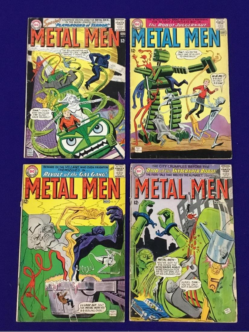 Metal Men No. 8, 9, 10, 13