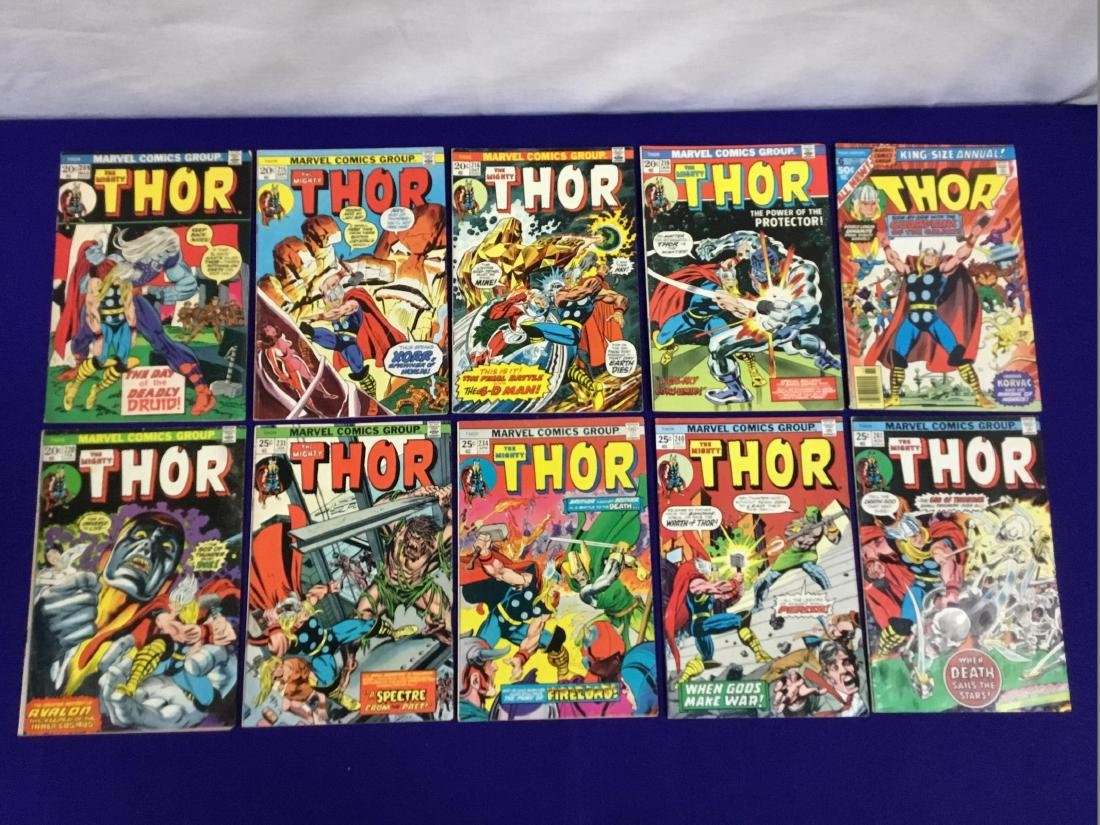 Thor King size Annual no. 6. Thor No. 209, 215, 216,
