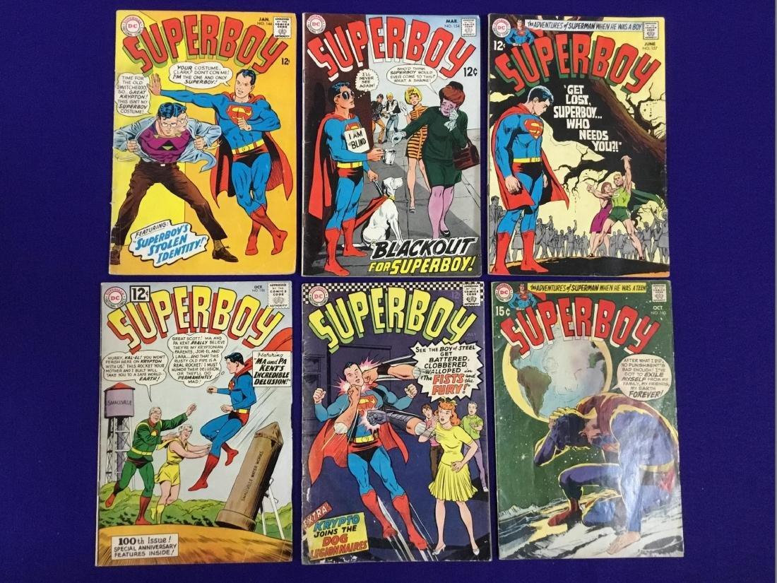 Superboy no. 100, 131, 144, 154, 157, 160